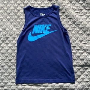 A Nike soft work out tee. Taken care of.